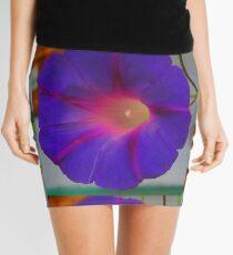 The Purple Morning Glory Mini Skirt
