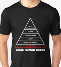 Basic human needs beer lovers Unisex T-Shirt