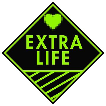 Extra Life (green) by xtrolix