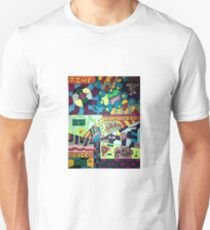 Colorful abstract meanings Unisex T-Shirt