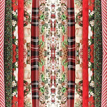 Christmas Fabric  by Gravityx9