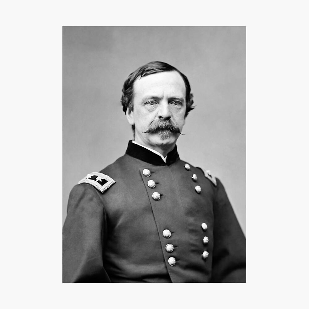 General Dan Sickles - Retrato de la Guerra Civil Lámina fotográfica