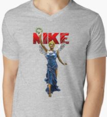 Nike Goddess of Victory Men's V-Neck T-Shirt