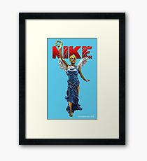 Nike Goddess of Victory Framed Print