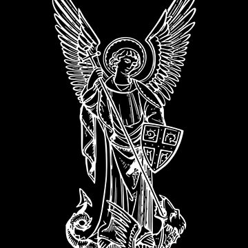 Saint Michael the Archangel, Christianity, Religious, Catholic  by MySunLife