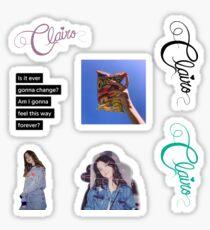 Clairo Sticker Set Sticker