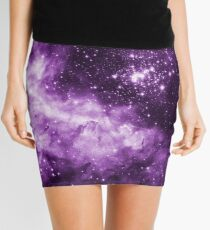 Purple Galaxy - Westerlund 2 — Hubble's 25th Anniversary Image (Color Enhanced) Mini Skirt