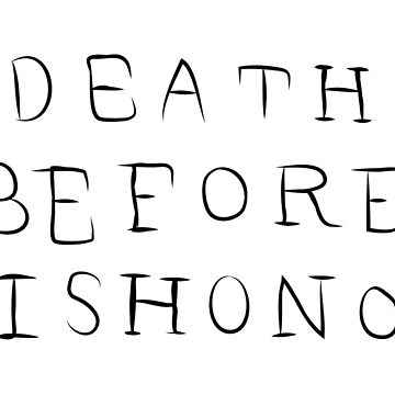 XXX -  Death Before Dishonor by aprilkristiine
