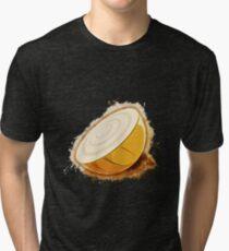Onion cut glowing Art Tri-blend T-Shirt