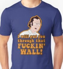 F is for Family - Frank Murphy will put you through the Wall! Unisex T-Shirt