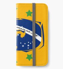 lets dance brazilian zouk flag color design iPhone Wallet/Case/Skin