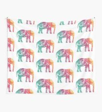 Warm Elephant Wall Tapestry