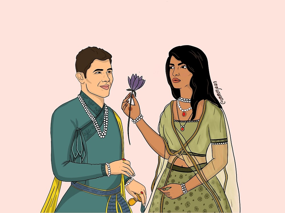 Nick and Priyanka by Emmen Ahmed