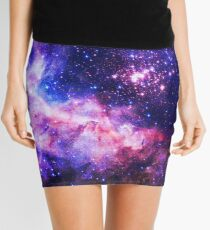 Purple Universe - Flower of Life Infinite Pattern - Westerlund 2 (Color Enhanced) Mini Skirt
