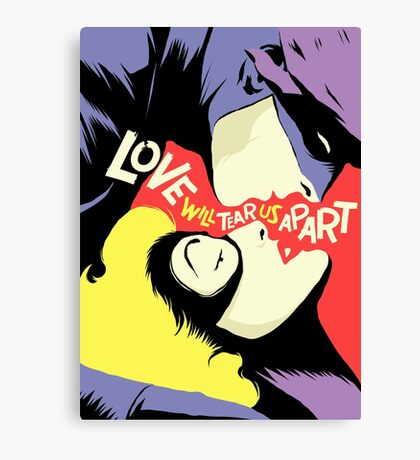Love Vigilantes: Reversed Canvas Print