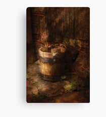 An old pail Canvas Print