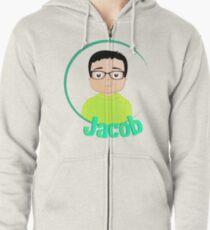Custom Jacob Zipped Hoodie