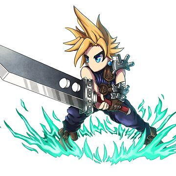 Cloud Brave Frontier/Exivus style! by Hyrchurn