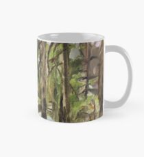 Camo Camping Hiking Hunting State Park Mount Rainer Washington Ohanapecosh Picnic Table Turquoise Tent Green Old Growth Douglas Firs Mug