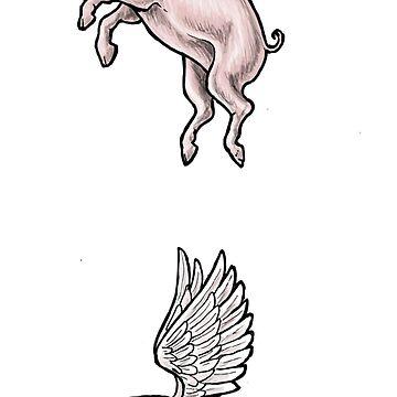 Cerdos Voladores de bluebell42
