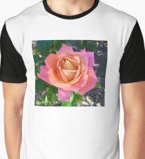 Sherbet Rose Graphic T-Shirt