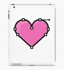 Love - Vector point iPad Case/Skin