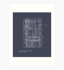 south street  district // philadelphia Art Print