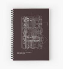 south street  district // philadelphia Spiral Notebook