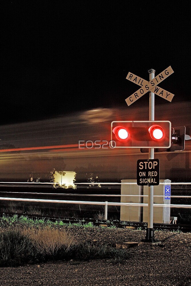 Stop On Red Signal  by EOS20