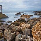Black Head Ocean Baths 0003 by kevin Chippindall