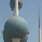 Towering over Kuwait by Dana Kay