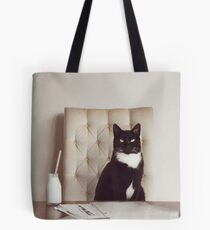 Corporate Cat Tote Bag