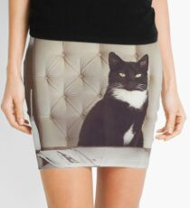 Corporate Cat Mini Skirt