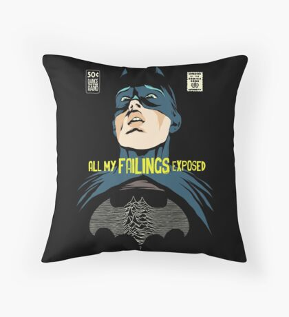 All My Failings Exposed Throw Pillow