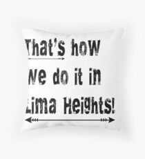 Lima Heights Throw Pillow
