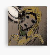Sad Woman Canvas Print