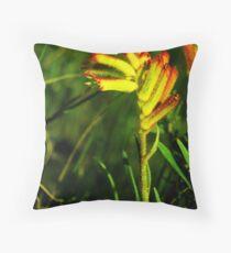 Wildflower Season Throw Pillow