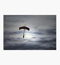 """Skydiver"" Photographic Print"