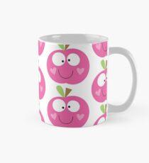 Happy Apple Pink Mug