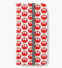 Happy Apple Red iPhone Wallet/Case/Skin