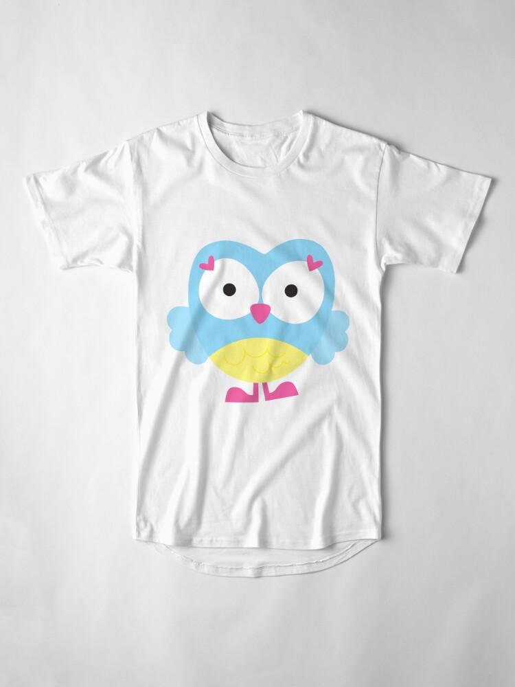 Alternate view of Sweet Owl Long T-Shirt