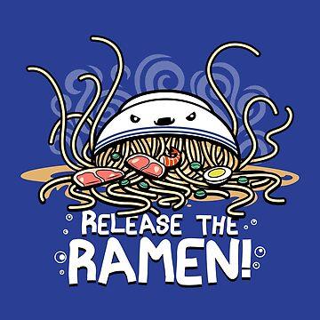 Release the Ramen by BoggsNicolasArt