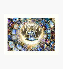 Visions of ascension Art Print