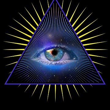 All Seeing Eye Of Providence Mystic Psychic Meditation Illuminati 3rd Eye Gifts by vince58