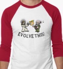 Evolve this!! Men's Baseball ¾ T-Shirt