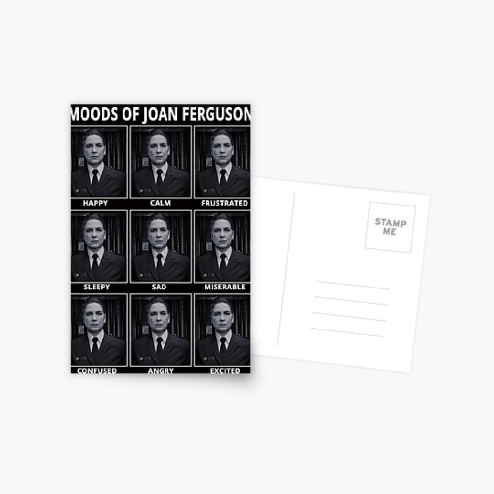 Los estados de ánimo de Joan Ferguson Postal