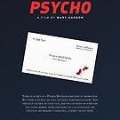 «American Psycho - Tarjeta de visita manchada de sangre de Bateman» de PFordy4D