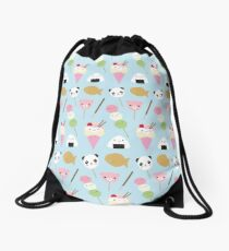 Japanese Kawaii Snacks Drawstring Bag