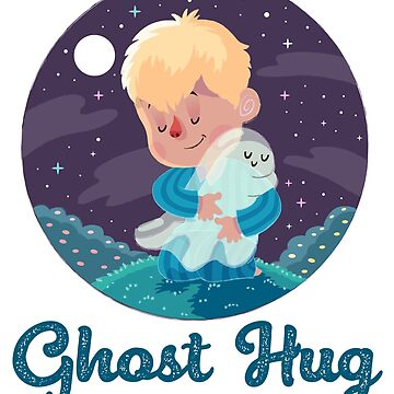 Adorable Ghost Hugs - Boy by StedeBonnet
