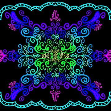 Neon Butterfly by FuriousWinter